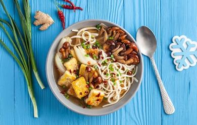 Мисо-суп с грибами Намеко
