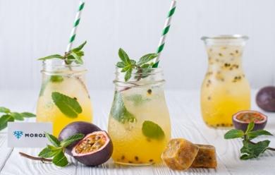 Освежающий лимонад из замороженной маракуйи