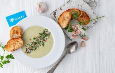Крем-суп из замороженной брокколи