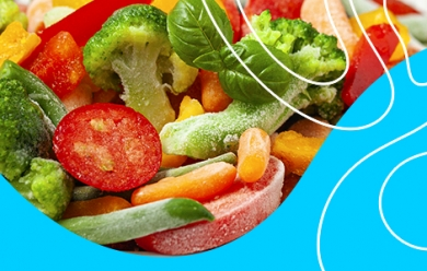 Как правильно размораживать замороженные овощи и овощные смеси