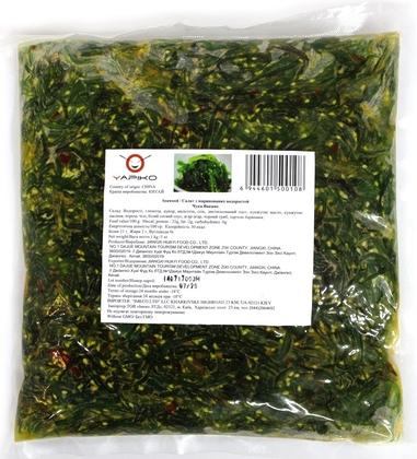 Салат из маринованных водорослей Чука вакаме, 1 кг