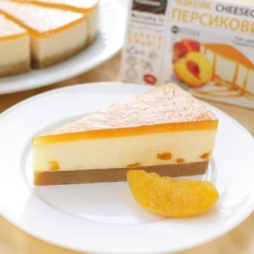 Торт Чизкейк персиковый замороженный, 130г