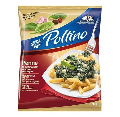 Mакароны «пенне» со шпинатом и сырным соусом, 600г